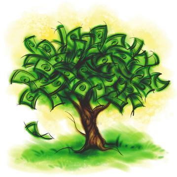 A tőzsde pénzben gyümölcsöző fája, a megfelelő tudással szépen nő...